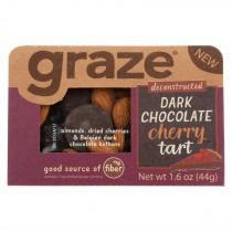Graze - Snack Mix - Dark Chocolate Cherry Tart - Case Of 6 - 1.6 Oz.