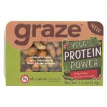 Graze - Snack Mix - Veggie Protein Power - Case Of 6 - 1.3 Oz.
