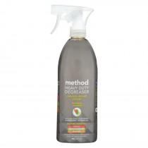 Method - Heavy Duty Kitchen Degreaser Spray - Lemongrass - Case Of 8 - 28 Fl Oz.