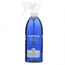 Method - Glass Cleaner - Mint Leaf - Case Of 8 - 28 Fl Oz.