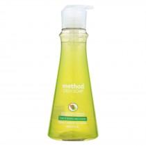 Method - Dish Soap Pump - Lime - Case Of 6 - 18 Fl Oz.