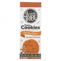 Thrive Tribe - Paleo Cookies - Gingerbread - Case Of 6 - 7.65 Oz.