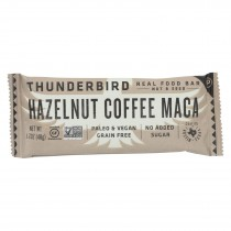 Thunderbird - Real Food Bar - Hazelnut Coffee Maca - Case Of 15 - 1.7 Oz.