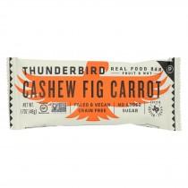 Thunderbird - Real Food Bar - Cashew Fig Carrot - Case Of 15 - 1.7 Oz.