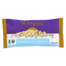 Sunspire Foods - Organic Chocolate Chips - White - Case Of 12-9 Oz.