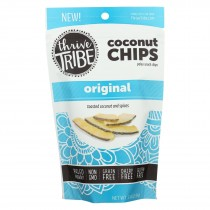 Thrive Tribe - Coconut Chips - Original - Case Of 6 - 3.14 Oz.