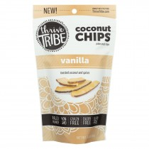 Thrive Tribe - Coconut Chips - Vanilla - Case Of 6 - 3.14 Oz.