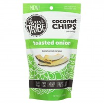 Thrive Tribe - Coconut Chips - Toasted Onion - Case Of 6 - 3.14 Oz.