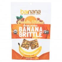 Barnana - Organic Banana Brittle - Pumpkin Walnut - Case Of 10 - 3.5 Oz.