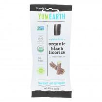 Yumearth Organics - Organic Licorice - Black - Case Of 12 - 2 Oz.