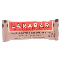 Larabar - Original Fruit And Nut Bar - Almond Butter Chocolate Chip - Case Of 16 - 1.6 Oz.