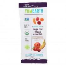 Yumearth Organics - Organic Fruit Snack - 4 Flavors - Case Of 12 - 2 Oz.