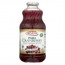Lakewood - Organic Juice - Pure Cranberry - Case Of 6 - 32 Fl Oz.