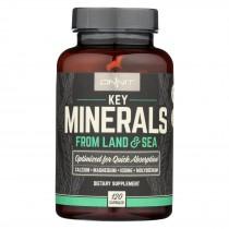 Onnit Labs - Key Minerals - 120 Vcap