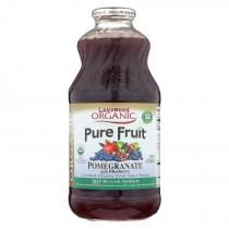 Lakewood - Organic Juice - Pomegranate With Blueberry - Case Of 6 - 32 Fl Oz.
