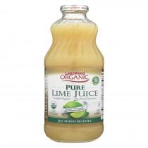 Lakewood - Organic Juice - Pure Lime - Case Of 6 - 32 Fl Oz.