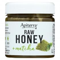 Apiterra - Raw Honey - Matcha - Case Of 6 - 8 Oz.