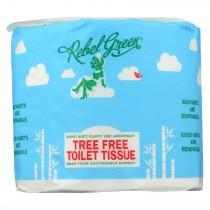 Rebel Green - Tree Free Toilet Tissue - Case Of 40 - Ct