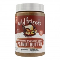 Wild Friends Peanut Butter - Pumpkin Spice - Case Of 6 - 16 Oz.