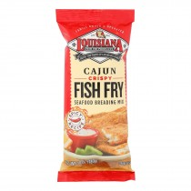 La Fish Fry Fish Fry - Cajun - Case Of 12 - 10 Oz