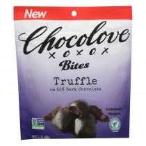 Chocolove Xoxox - Truffle Bites - Case Of 8 - 3.5 Oz.