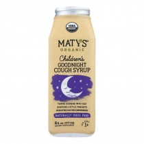 Maty's - Organic Children's Goodnight Cough Syrup - 6 Fl Oz.