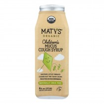 Maty's - Organic Children's Mucus Cough Syrup - 6 Fl Oz.