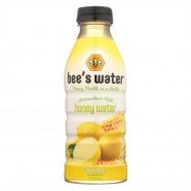 Bee's Water - Water Lemon Honey - Case Of 12 - 16 Fz
