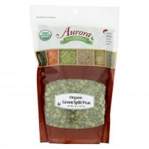 Aurora Natural Products - Organic Peas - Green Split - Case Of 10 - 24 Oz.