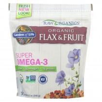 Garden Of Life - Raw Organics Flax And Fruit - 12 Oz