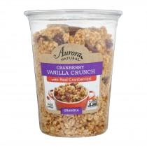 Aurora Natural Products - Granola - Cranberry Vanilla - Case Of 12 - 14 Oz.