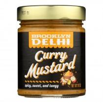 Brooklyn Delhi - Curry Mustard - Case Of 6 - 10 Oz