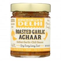 Brooklyn Delhi - Roasted Garlic Achaar Chili Sauce - Case Of 6 - 9 Oz