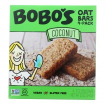 Bobo's Oat Bars - Oat Bar - Coconut - Case Of 6 - 4 Pk