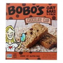 Bobo's Oat Bars - Oat Bar - Chocolate Chip - Case Of 6 - 4 Pk