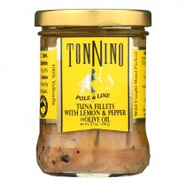 Tonnino Tuna - Tuna W/lemon And Pepper - Case Of 6 - 6.7 Oz