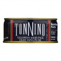 Tonnino Tuna - Light Tuna In Oil - Case Of 12 - 4.94 Oz
