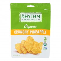 Rhythm Superfoods - Pineapple Crunchy - Case Of 8 - 1.4 Oz