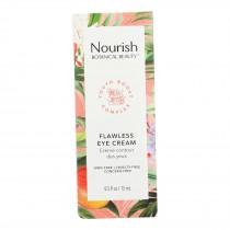 Nourish Botanical Beauty - Eye Cream Flawless - 1 Each - 0.5 Fz