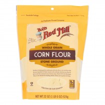 Bob's Red Mill - Flour Corn - Case Of 4 - 22 Oz