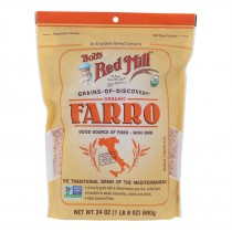 Bob's Red Mill - Farro - Case Of 4 - 24 Oz