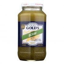 Golds Gold's, Schav - Case Of 12 - 24 Oz
