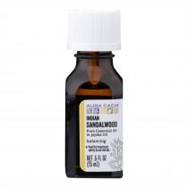 Aura Cacia - Ess Oil Indian Sandlewood - 1 Each - .5 Fz