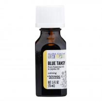 Aura Cacia - Ess Oil Blue Tansy Jojoba - 1 Each - .5 Fz