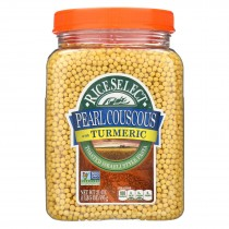 Rice Select Couscous - Pearl - With Turmric - Case Of 4 - 21 Oz