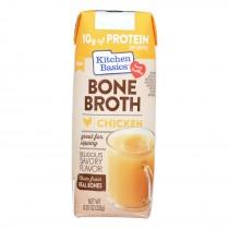 Kitchen Basics Chicken Bone Broth - Case Of 12 - 8.25 Fz