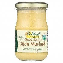 Roland Products - Mustard Dijon Xstrong - Case Of 12 - 7 Oz