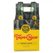 Topo Chico Carbonated Mineral Water - Case Of 6 - 4/12 Fz