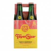 Topo Chico - Mineral Water Sparkling Grapefruit - Case Of 6 - 4/12 Fz