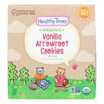 Healthy Times - Cookies Arrowroot Vanilla - Case Of 6 - 5 Oz